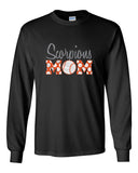 Scorpions Baseball Ultra Cotton Long Sleeve T-Shirt SP_Mom Glitter - L&M Spirit Gear  - 1
