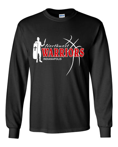 Northwest Warriors Basketball Ultra Cotton Long Sleeve T-Shirt SP2 - L&M Spirit Gear  - 1