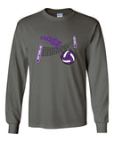 Circle City Rage Volleyball Ultra Cotton Long Sleeve T-Shirt SP - L&M Spirit Gear  - 1