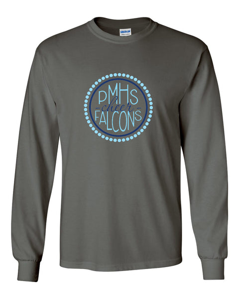 Perry Meridian Charcoal Long Sleeve Tee SP2 - L&M Spirit Gear