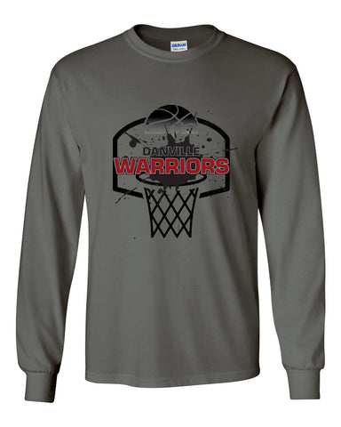 Danville MS Girls Basketball Ultra Cotton Long Sleeve T-Shirt SP - L&M Spirit Gear