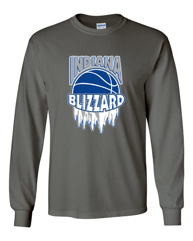Indiana Blizzard Ultra Cotton Long Sleeve T-Shirt SP - L&M Spirit Gear  - 1