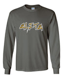 Elite Softball Ultra Cotton Long Sleeve T-Shirt SP1 - L&M Spirit Gear  - 1