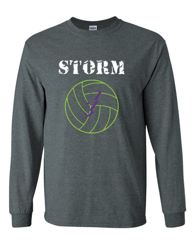 Storm Volleyball Ultra Cotton Long Sleeve T-Shirt SP - L&M Spirit Gear