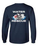 Fishers Fire Department Water Rescue Ultra Cotton Long Sleeve T-Shirt SP2 - L&M Spirit Gear