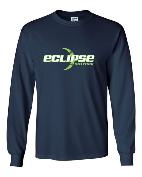 Eclipse Softball Frasier Ultra Cotton Long Sleeve T-Shirt SP1 - L&M Spirit Gear