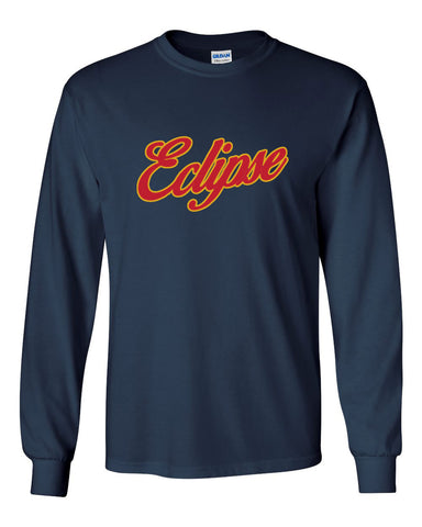 Eclipse Cook Navy or Charcoal Long Sleeve Tee SP - L&M Spirit Gear  - 1