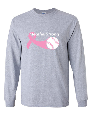 Heather Strong Ultra Cotton Long Sleeve T-Shirt SP - L&M Spirit Gear  - 1