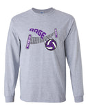 Circle City Rage Volleyball Ultra Cotton Long Sleeve T-Shirt SP - L&M Spirit Gear  - 2