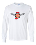 Indiana Flight Ultra Cotton Long Sleeve T-Shirt SP - L&M Spirit Gear