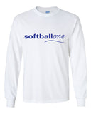 Softball one Ultra Cotton Long Sleeve T-Shirt SP - L&M Spirit Gear  - 2