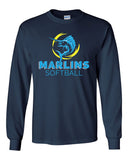 Marlins Softball Long Sleeve Tee - SP