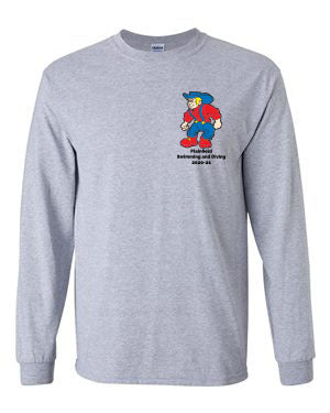 Plainfield Girls Swimming & Diving Long Sleeve - SP