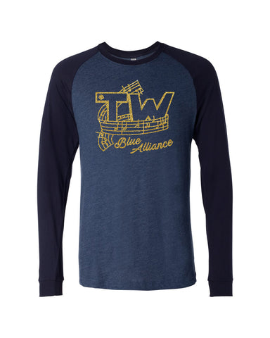 Tri-West Marching Band Unisex Raglan GLITTER