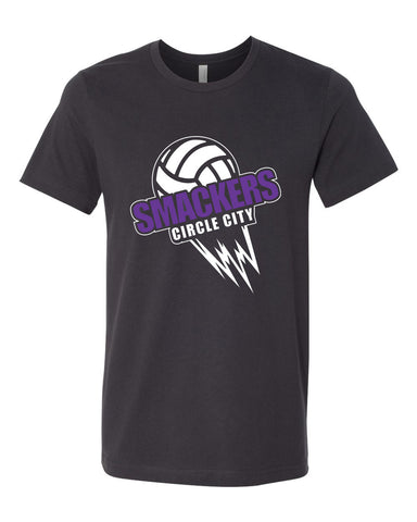 Circle City Smackers Volleyball Unisex Short Sleeve Jersey Tee SP - L&M Spirit Gear  - 1