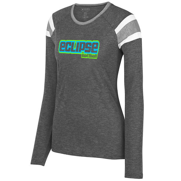 Eclipse Wasson Softball LADIES LONG SLEEVE FANATIC TEE  SP - L&M Spirit Gear