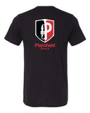Plainfield Band Short Sleeve Triblend Tee - SP