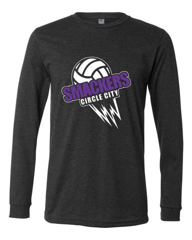Circle City Smackers Volleyball Long Sleeve Jersey Tee SP - L&M Spirit Gear  - 1