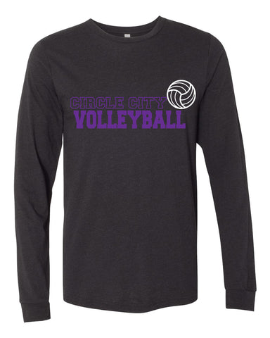 Circle City Volleyball - Unisex Long Sleeve Tee - SP1