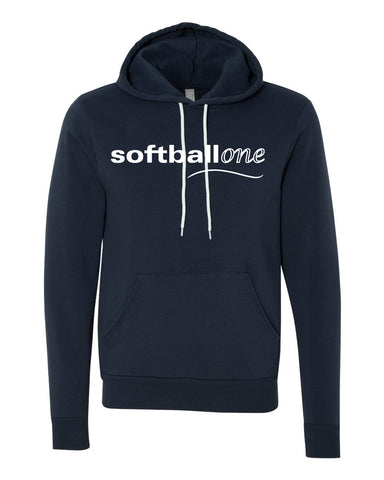 Softball one Unisex Hooded Pullover Sweatshirt SP - L&M Spirit Gear  - 1