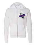 Circle City Smackers Volleyball Unisex Full-Zip Hooded Sweatshirt SP - L&M Spirit Gear  - 2