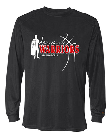 Northwest Warriors Basketball B-Core Long Sleeve T-Shirt SP2 - L&M Spirit Gear  - 1