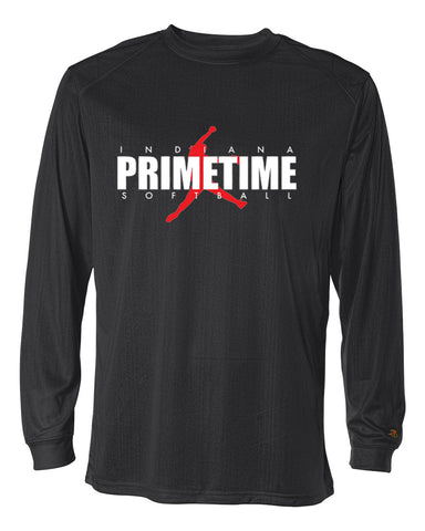 Indiana Primetime Softball B-Core Men's Long Sleeve T-Shirt SP - L&M Spirit Gear  - 1