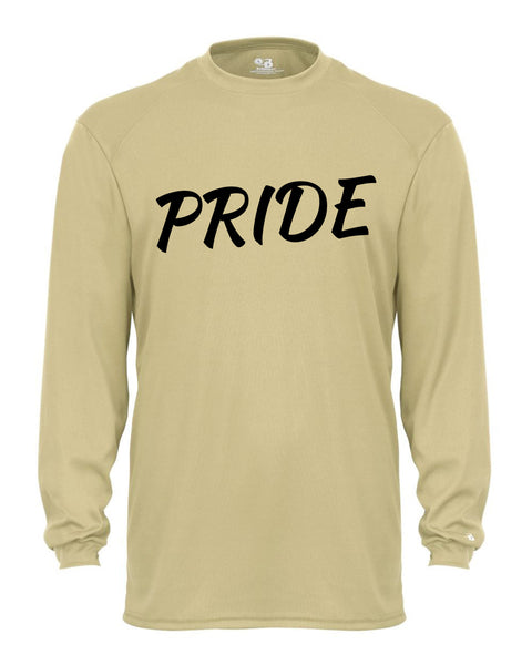 Warren Pride Pride B-Core Long Sleeve T-Shirt GLITTER