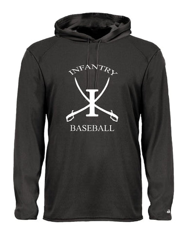 Infantry Baseball DriFit Long Sleeve Hooded T-Shirt SP - L&M Spirit Gear  - 1