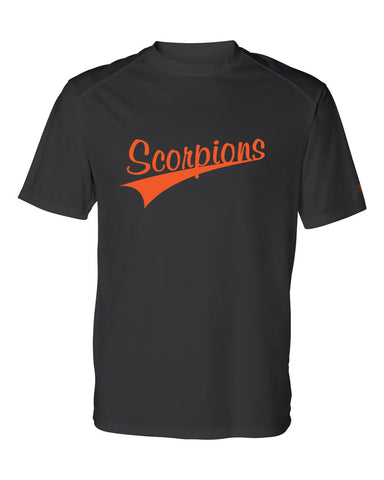 Scorpions Baseball B-Core Short Sleeve T-Shirt SP4 Glitter - L&M Spirit Gear  - 1