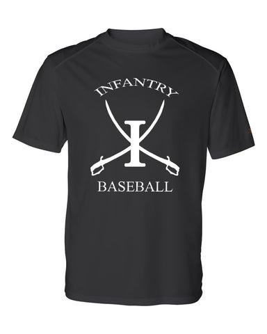 Infantry Baseball DryFit T-Shirt SP - L&M Spirit Gear  - 1