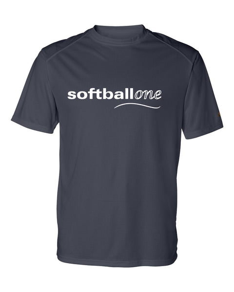 Softball one B-Core Short Sleeve T-Shirt  SP - L&M Spirit Gear  - 1