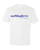 Softball one B-Core Short Sleeve T-Shirt  SP - L&M Spirit Gear  - 2