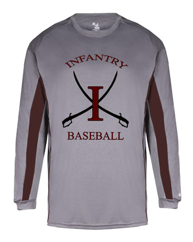 Infantry Baseball DryFit Long Sleeve T-Shirt SP