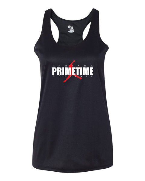 Indiana Primetime Softball B-Core Women's Racerback Tank SP - L&M Spirit Gear  - 1