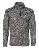 Indiana Primetime Softball Blend Mens's Quarter-Zip Pullover EMB - L&M Spirit Gear  - 1