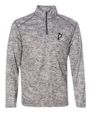 Indiana Primetime Softball Blend Mens's Quarter-Zip Pullover EMB - L&M Spirit Gear  - 2