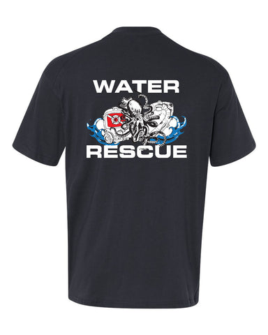 Fishers Fire Department Water Rescue Extreme Cotton Short Sleeve T-Shirt SP2