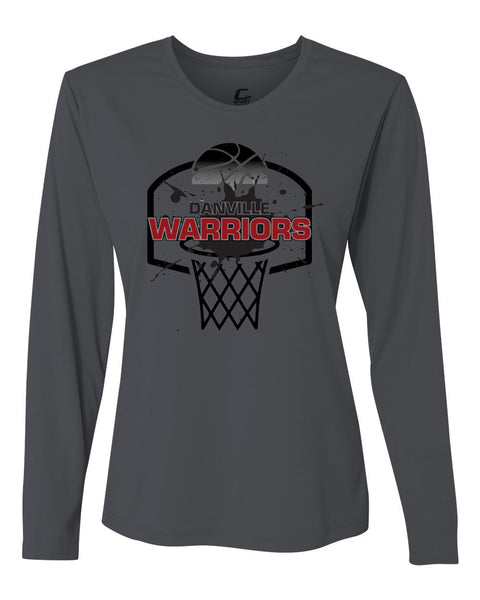 Danville MS Girls Basketball Performance Women's Long Sleeve Shooter Shirt SP - L&M Spirit Gear