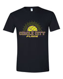 Circle City Flare Volleyball Softstyle T-Shirt SP - L&M Spirit Gear  - 1