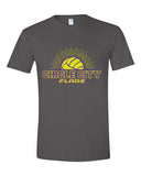 Circle City Flare Volleyball Softstyle T-Shirt SP - L&M Spirit Gear  - 2
