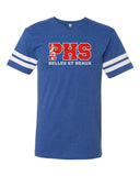 Plainfield Show Choirs Adult Football Jersey Tee - BELLES ET BEAUX - GLITTER