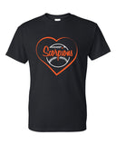 Scorpions Baseball Dry Blend Short Sleeve Tee SP_Heart - L&M Spirit Gear  - 1