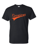 Scorpions Baseball Dry Blend Short Sleeve Tee SP4 Glitter - L&M Spirit Gear  - 1