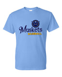 Muskets Baseball Youth Dry Fit Short Sleeve Tee - SP