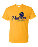 Muskets Baseball Youth Short Sleeve Tee - Glitter