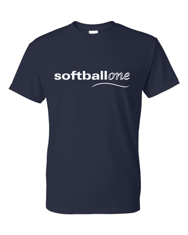 Softball one Dry Blend Short Sleeve Tee SP - L&M Spirit Gear  - 1