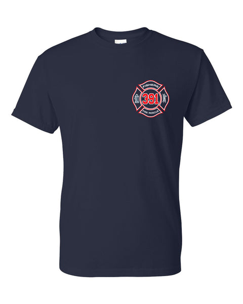 Fishers Fire 391 Dry Blend Short Sleeve Tee SP - L&M Spirit Gear