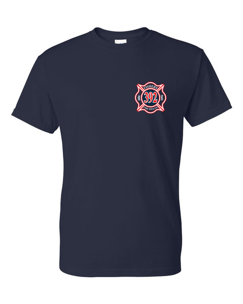 Fishers Fire 392 Ladder Dry Blend Short Sleeve Tee SP - L&M Spirit Gear