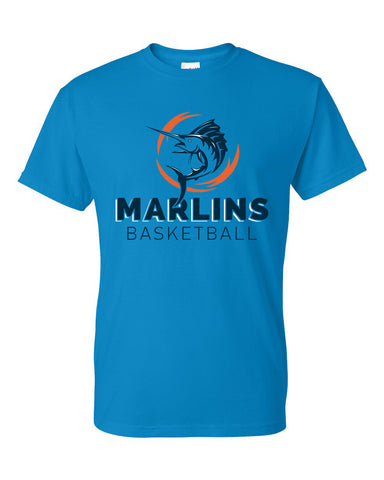 Marlins Basketball Short Sleeve Tee - SP